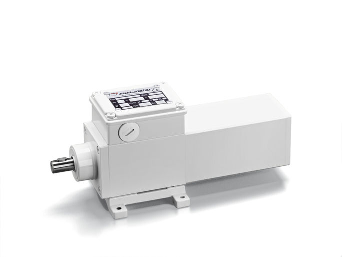 Minimotor aandrijftechniek aluminium IP67 ACF