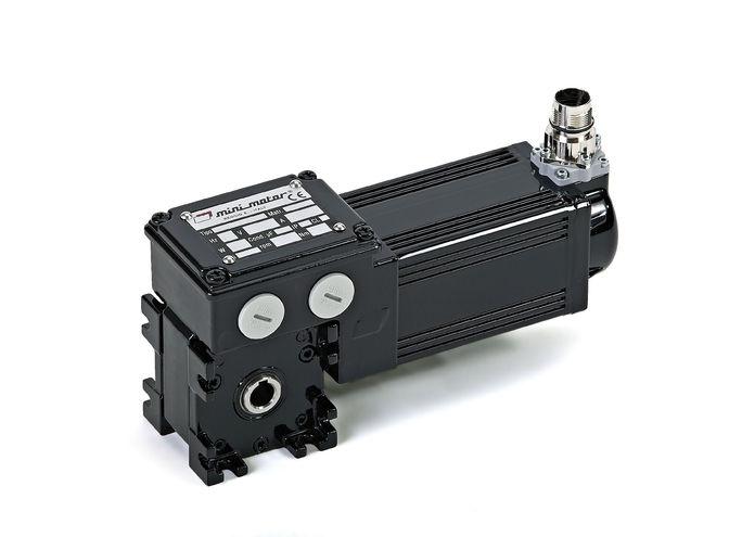 Minimotor aandrijftechniek servomotor MCBS