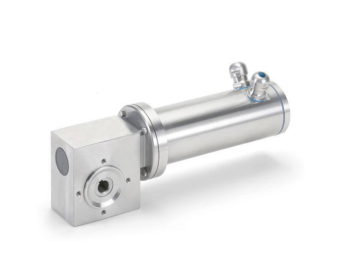 Minimotor aandrijftechniek RVS IP69K PCFSS
