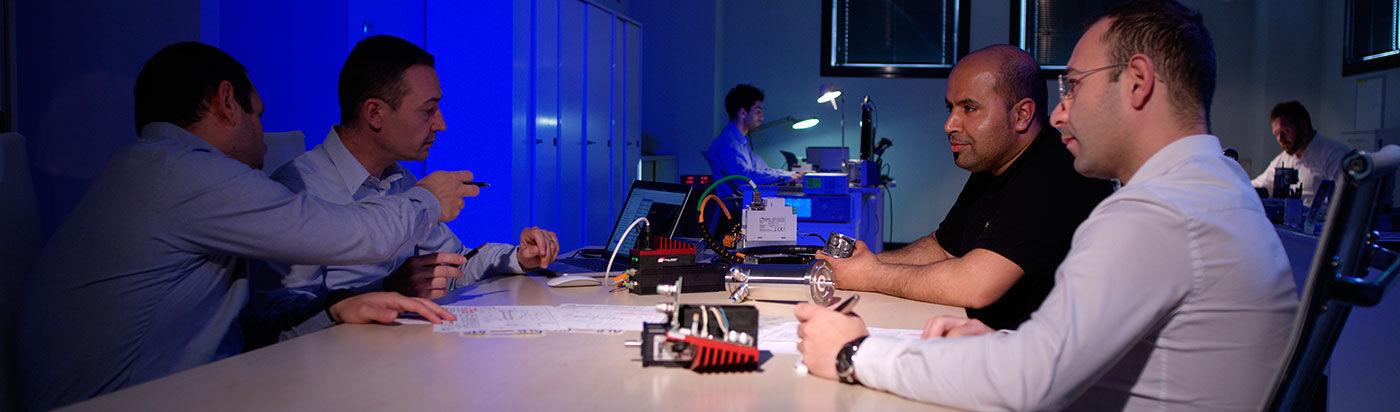 Minimotor aandrijftechniek techniek meeting